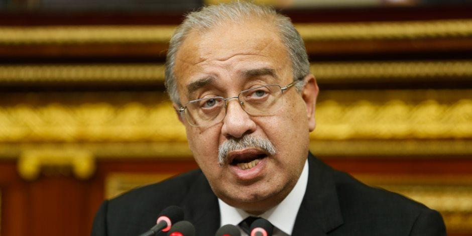رئيس الوزراء: البرلمان له دور بارز في وضع البنية التشريعية لمواجهة الإرهاب