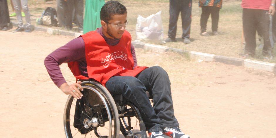انطلاق اليوم الرياضى للجامعات المصرية من جامعة عين شمس «صور»