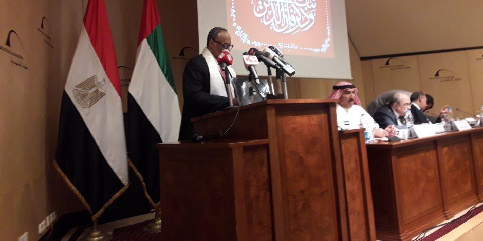 سفير الإمارات: الشيخ زايد بن سلطان أوصى أبنائه بمصر