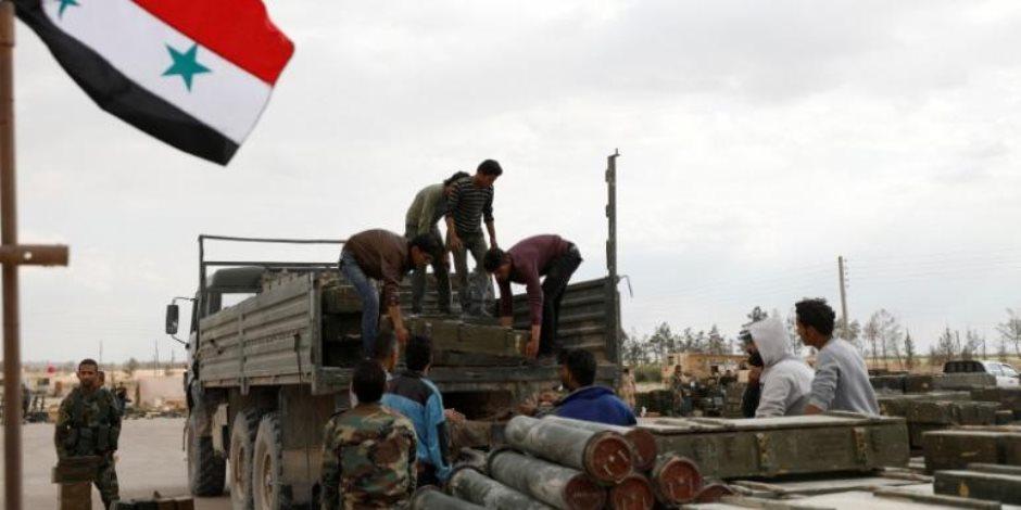 إعلام حزب الله: جيب شمال شرقى دمشق بات خاليا من مقاتلى المعارضة