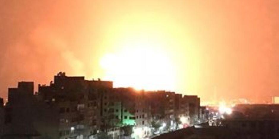 «صحة الاسكندرية»: إصابة 3 فى حريق بمخزن أسطوانات بمنطقة مرغم