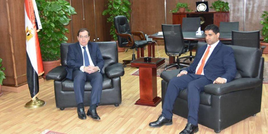 وزير البترول يحبث مع «مبادلة الإماراتية» ضخ استثمارات جديدة فى البحر الأحمر