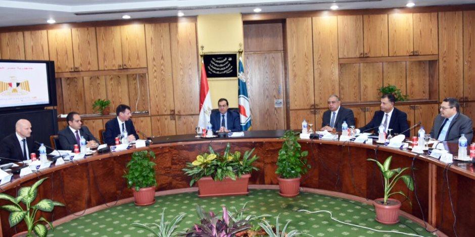 «الملا» وشركة «بي بي» يبحثان تحويل مصر لمركز إقليمي لتداول المنتجات البترولية