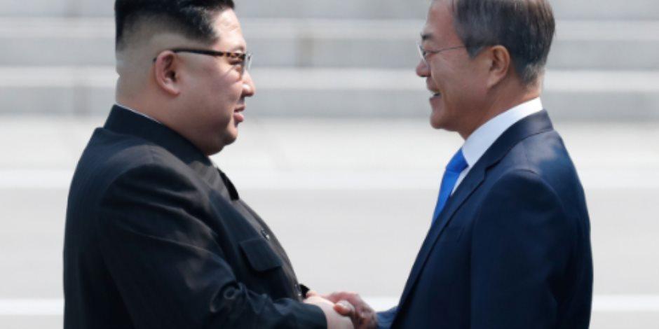 """رئيس كوريا الجنوبية: نأمل بالتوصل إلى """"اتفاق جرئ"""" خلال القمة بين الكوريتين"""