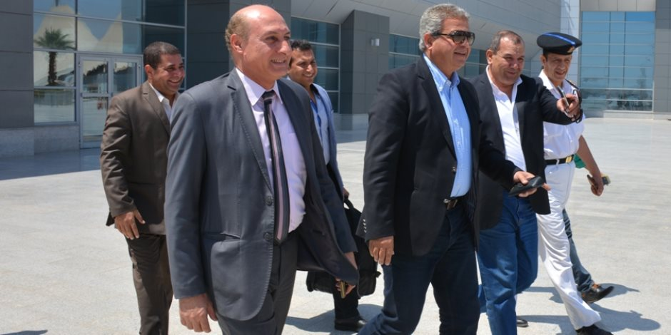 وزير الرياضة يتفقد النادي الإسماعيلى بالنخيل قبل ختام دوري مراكز الشباب