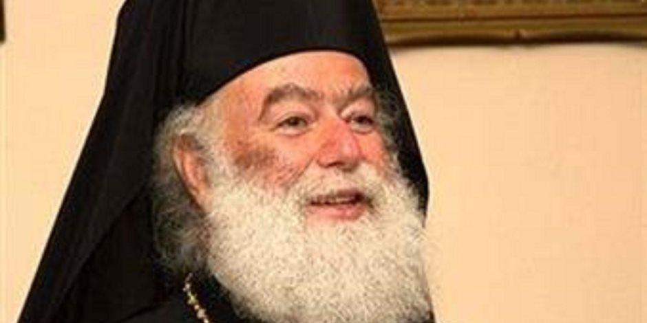 بحضور السفير اليوناني.. بطريرك الروم الأرثوذكس يرأس القداس الاحتفالي للقديس مارجرجس