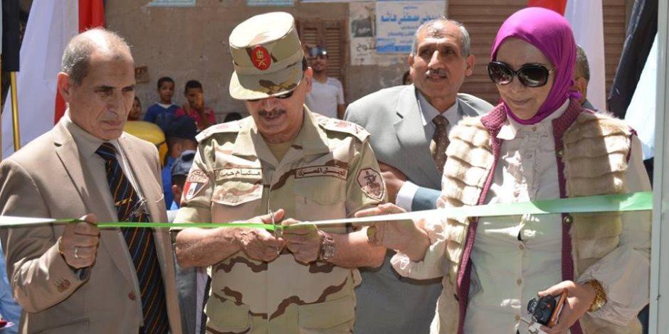 افتتاح منفذ جهاز الخدمة الوطنية بكفر الشيخ لبيع السلع الغذائية والاستهلاكية بتخفيضات 20%