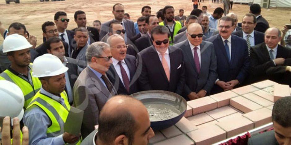 وزير التعليم العالى: الفرع الدولى لجامعة القاهرة تتويجًا لجهود رؤساء الجامعة السابقين (صور)