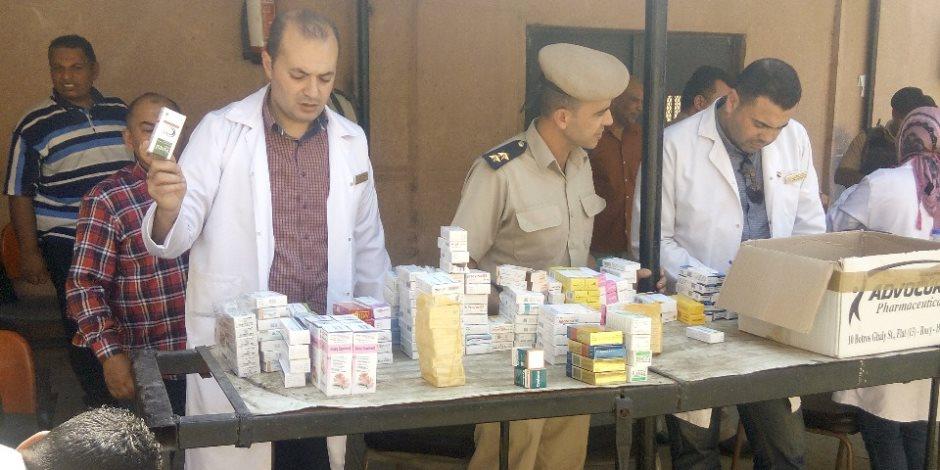 مدير أمن القليوبية يتابع عمل قافلة طبية للكشف على المسجونين بقسم العبور (صور)