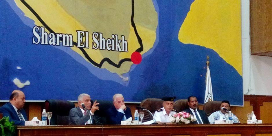 اعتماد57 مليار جنيه لاستكمال الخطة الاستثمارية ومواجهة السيول بجنوب سيناء (فيديو)