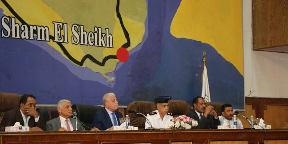 المجلس التنفيذى لجنوب سيناء يستعد لمواجهة الطقس المتقلب وأخطار السيول (صور)
