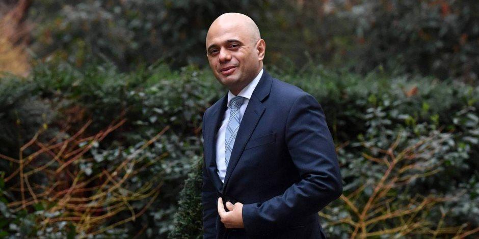 وزير الداخلية البريطانى الجديد يصل اجتماع مجلس الوزراء الأسبوعى