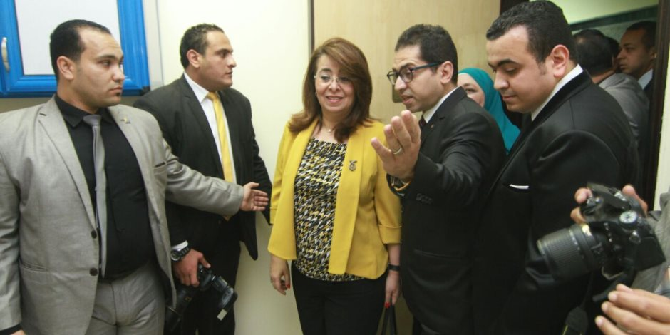 وزيرة التضامن تفتتح أول مركز حكومى لعلاج الإدمان بالدقهلية