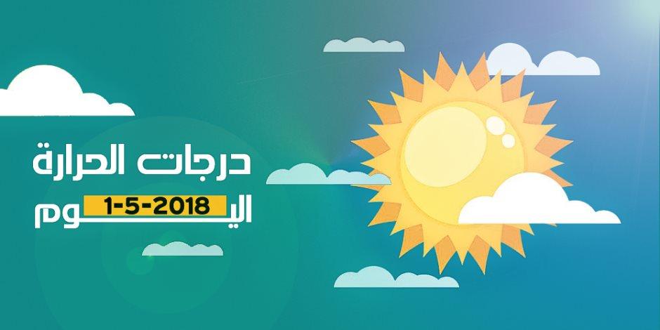 الأرصاد: طقس اليوم الثلاثاء شديد الحرارة وممطر.. والصغرى بالقاهرة 26 درجة