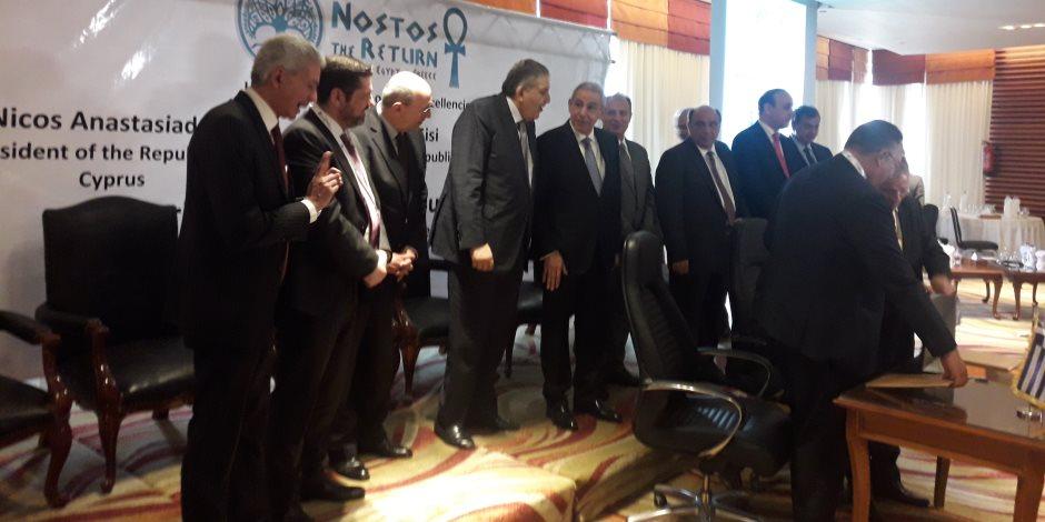 وزير الصناعة: العلاقات المصرية اليونانية القبرصية تمثل نموذجا ناجحا للشراكة (صور)