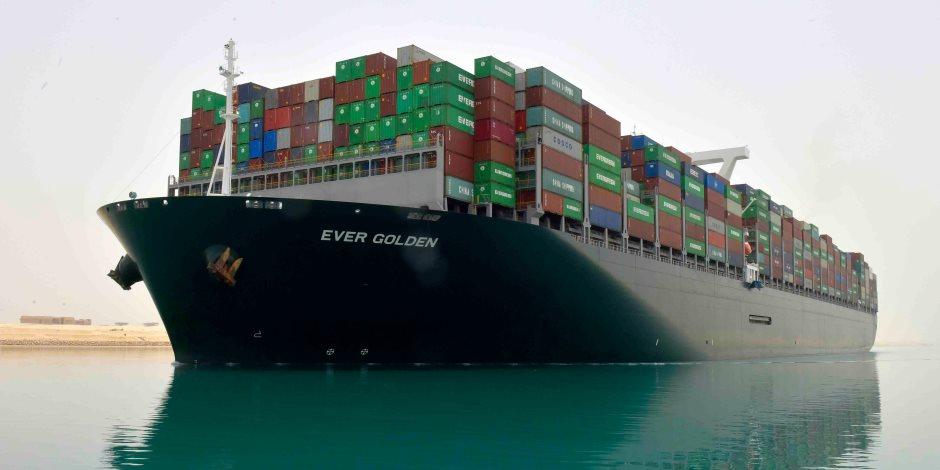 عبور أكبر سفينة حاويات بالعالم لأول مرة قناة «السويس الجديدة» اليوم