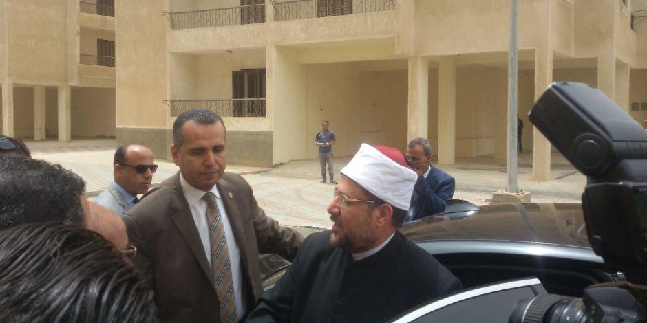 وزير الأوقاف يصل المنوفية لافتتاح مشروع إسكان الشباب بمدينة السادات