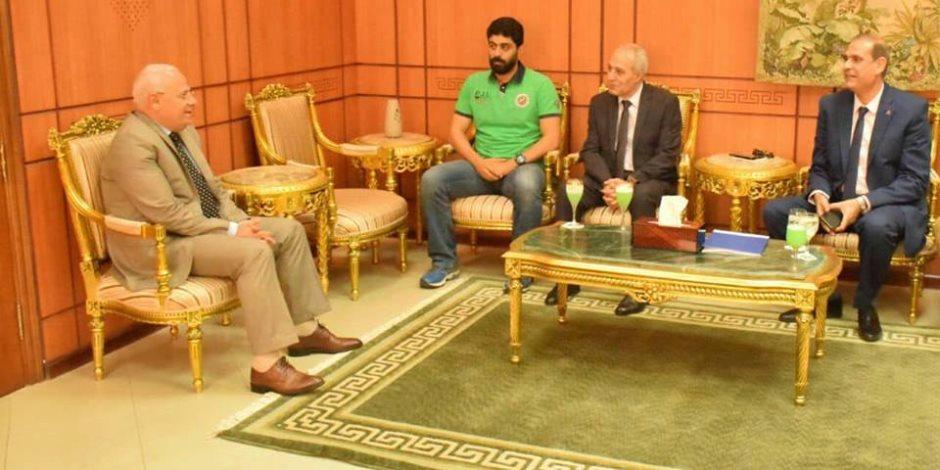 وفد منظومة الشكاوى بمجلس الوزراء يزور بورسعيد