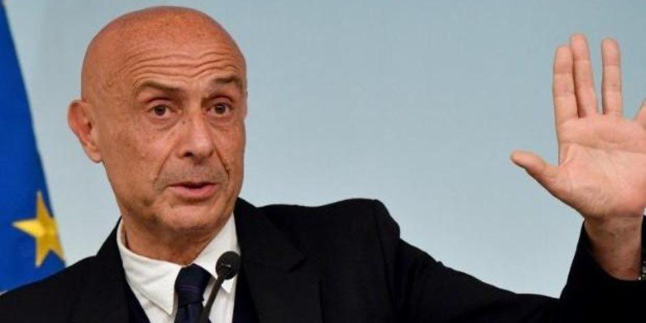 وزير داخلية إيطاليا: قطعنا خطوة إلى الأمام نحو حل أزمة الهجرة فى ليبيا