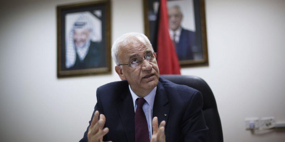 عريقات: قانون القومية العنصري في إسرائيل قوننة للأبارتايد ودعوة للتطهير العرقي