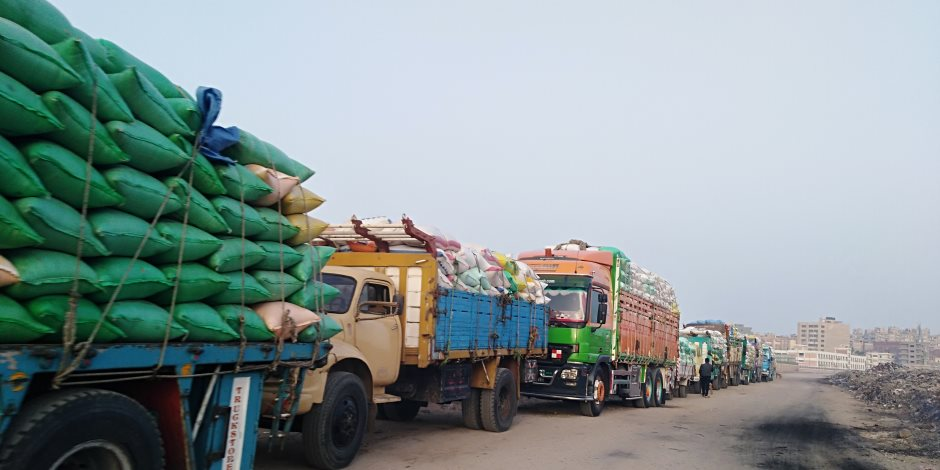 محافظ سوهاج: توريد 72 ألف و717 طن من القمح إلى الشون والصوامع