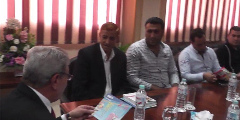 مدير أمن الدقهلية يجتمع مع أصحاب السلاسل التجارية لخفض الأسعار فى رمضان (صور)