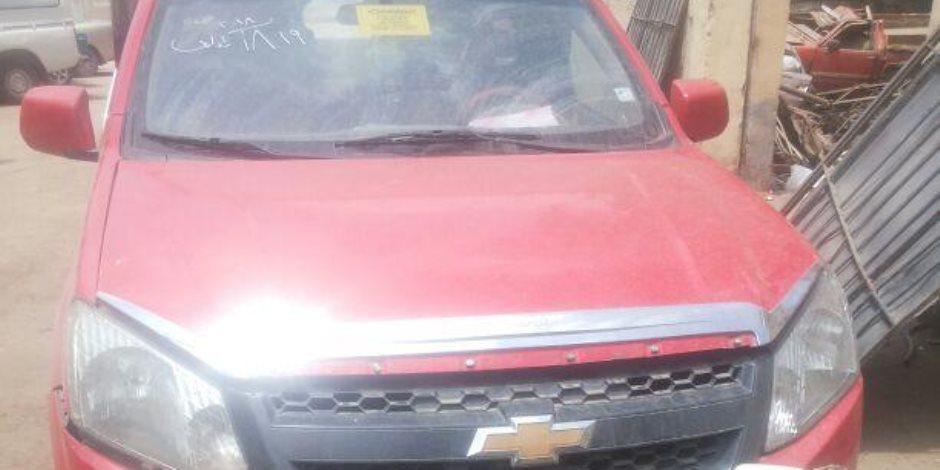 مرور ههيا يضبط سيارة بعد أيام من سرقتها بدائرة قسم أول مدينة نصر