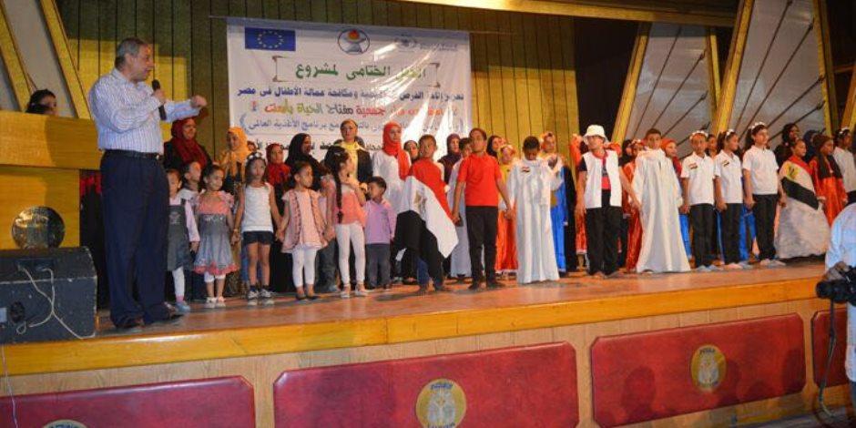 وكيل تضامن الأقصر يشهد حفل لمشروع تعزيز إتاحة الفرص التعليمية