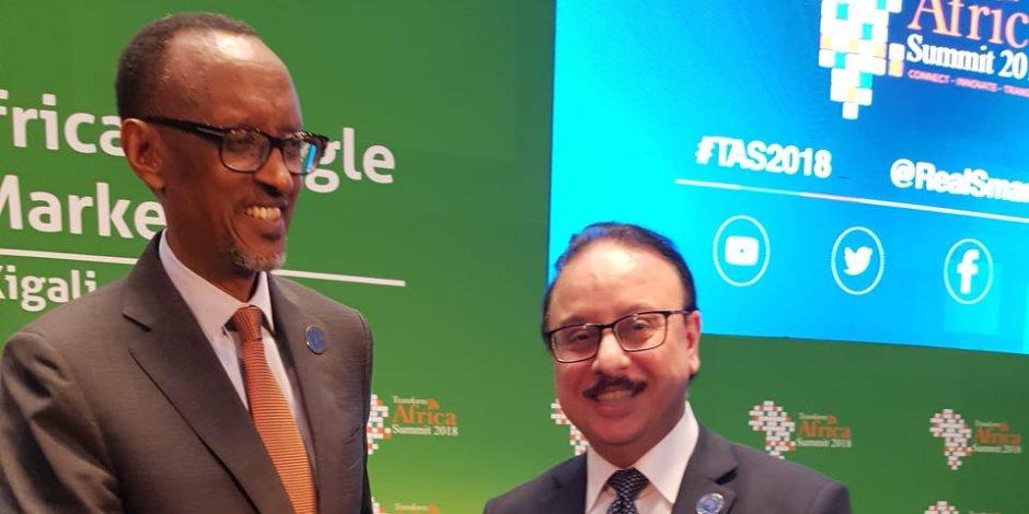تفاصيل رؤية مصر تجاه التحول نحو سوق رقمي موحد لإفريقيا في القمة الرابعة بكيجالي