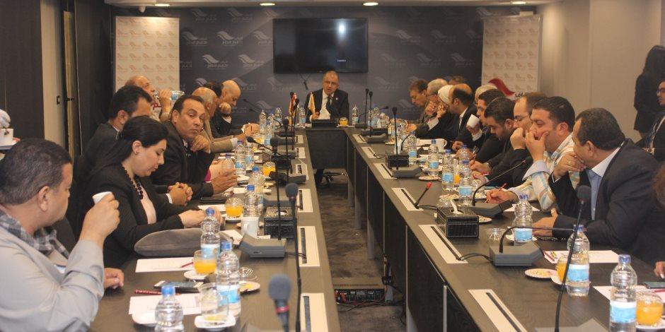 ائتلاف دعم مصر يعلن عقد حوارات مع المواطنين قبل تعديل أو إصدار قوانين جديدة (صور)