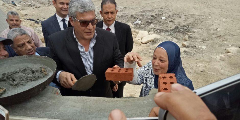 فريال قطب تضع حجر الأساس لمقر هيئة النيابة الإدارية الجديد بالإسكندرية (صور)