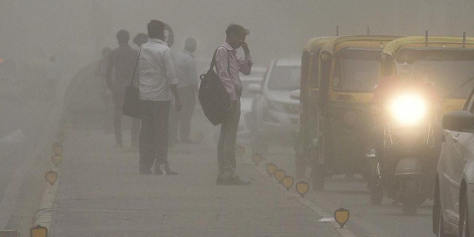مقتل وإصابة 36 شخصا فى عاصفة رملية جديدة وأمطار شمال الهند