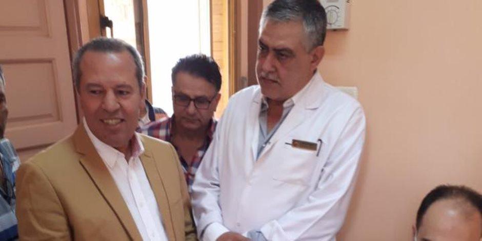 توقيع الكشف الطبى على 1600 من حجاج بيت الله الحرام فى الدقهلية