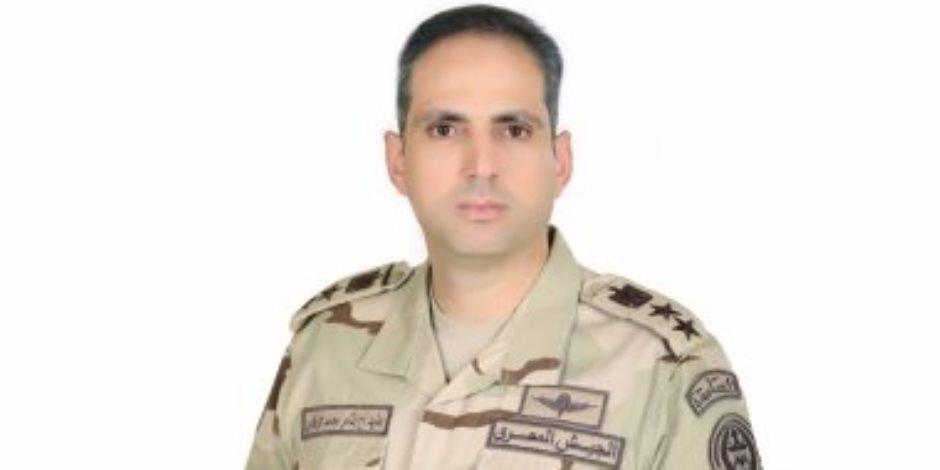 المتحدث العسكرى ينفى استهداف إحدى مركبات الجيش بشمال سيناء