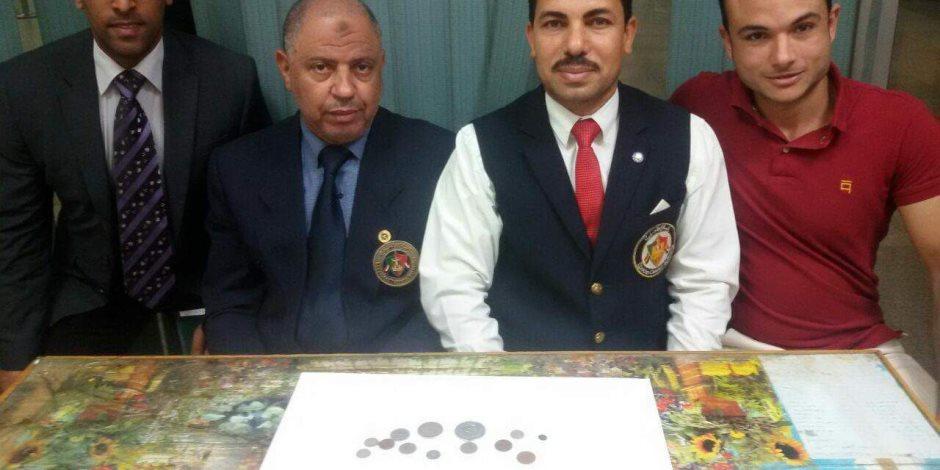 ضبط محاولة تهريب مجموعة من العملات المعدنية الأثرية النادرة بجمارك مطار برج العرب