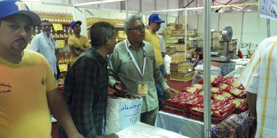وزير التموين: التخفيضات في معارض «أهلا رمضان» وصل لـ20% (صور)