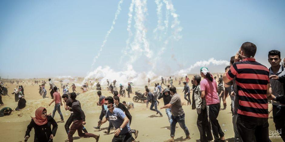حصيلة الاعتداءات الغاشمة.. استشهاد 127 فلسطينيا وإصابة 14700 منذ نهاية مارس
