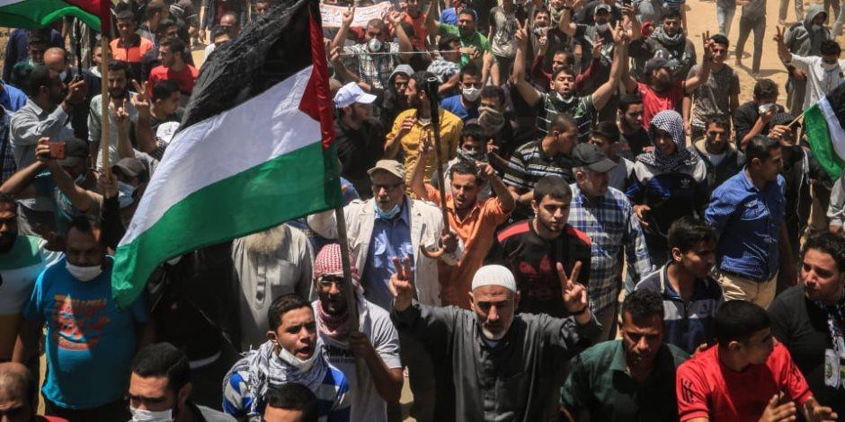 باريس تتضامن مع غزة.. مدن فرنسا ترفع العلم الفلسطيني على مبانيها