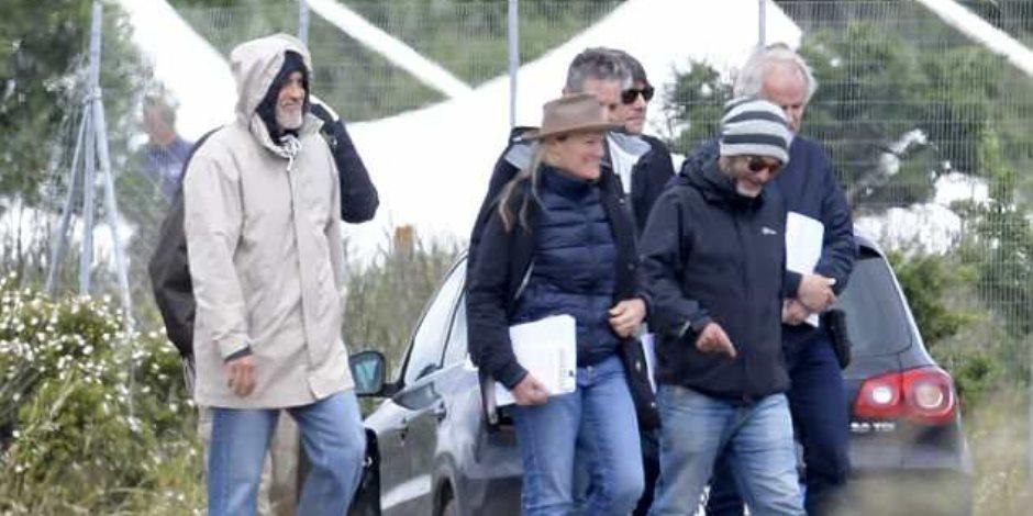جورج كلوني يشارك في بطولة المسلسل «كاتش 22» في إيطاليا (صور)