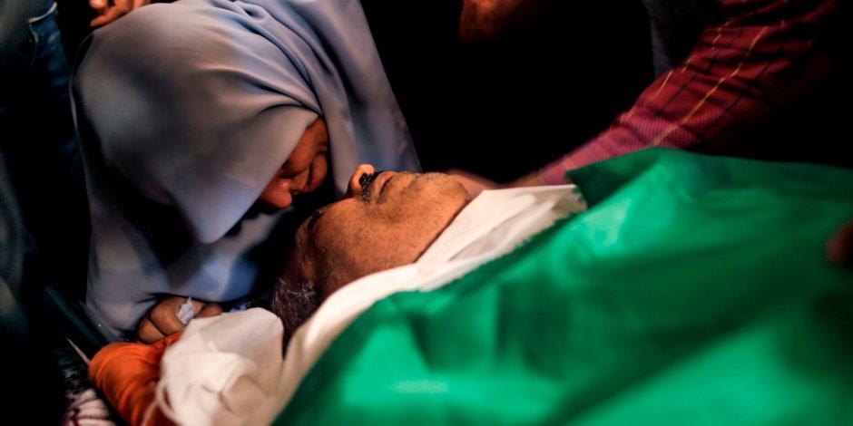 عيدية الاحتلال رصاص وبارود ودم.. جيش الاحتلال الإسرائيلي يقصف الفلسطينيين