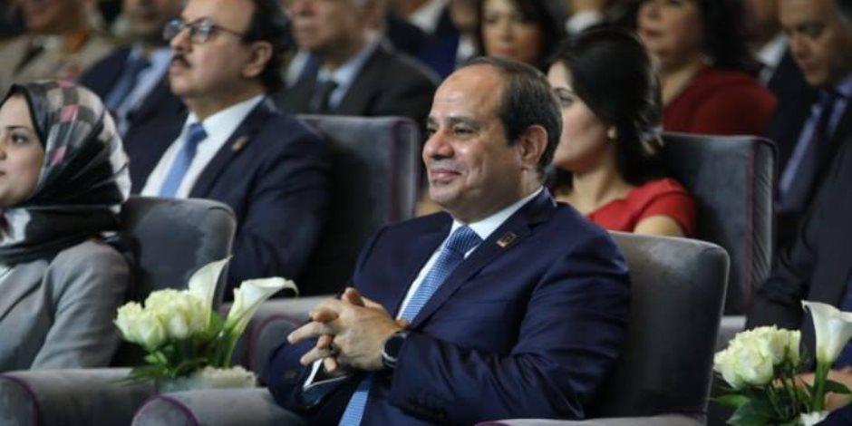 مصر دولة تانية في 2020.. هذا وعد الرئيس للمصريين