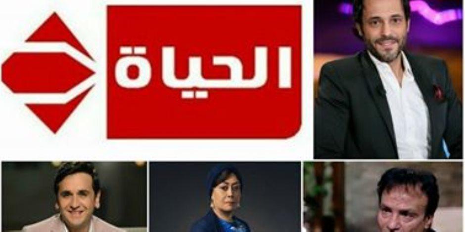 هياتم ويوسف الشريف وحمدي الوزير وآخرين في مسلسل رمضاني على الحياة