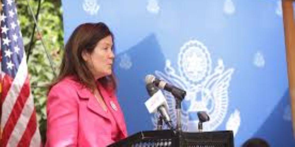 نائبة رئيس البعثة الدبلوماسية الأمريكية: ملتزمون بدعم مصر لضمان تمكين السيدات