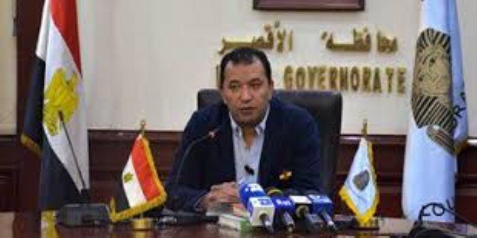 مدير الطرق والنقل بالأقصر يتابع تطوير ورفع كفاءة شوارع منطقة الكبة