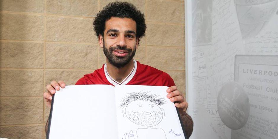 دوري الأبطال يحتفي بمحمد صلاح: «فنان حقيقي» (فيديو)