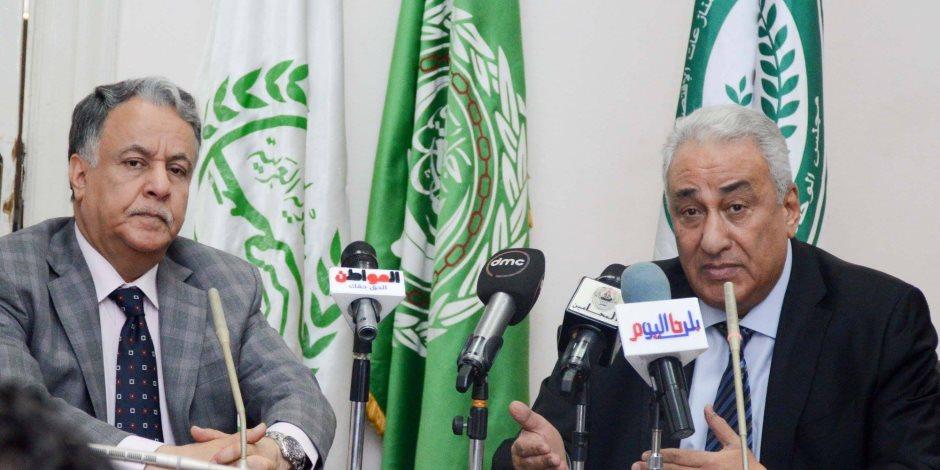 """سامح عاشور: """"العربي للتحكيم"""" يتضمن محكمة وغرفة وساطة (صور)"""