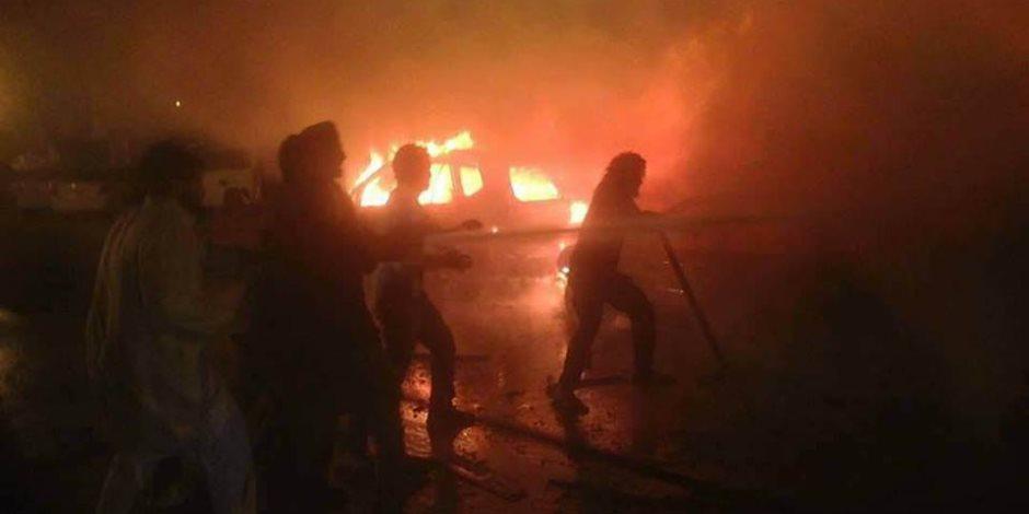 كواليس تفجير بنغازي الإرهابي.. ماذا قال وزير الداخلية الليبي؟