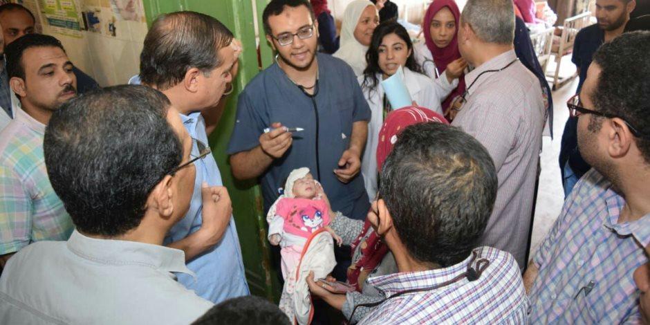 جزاء مباشر لطبيب ومدرس مساعد و 4 عاملين بمستشفي سوهاج الجامعي (صور)