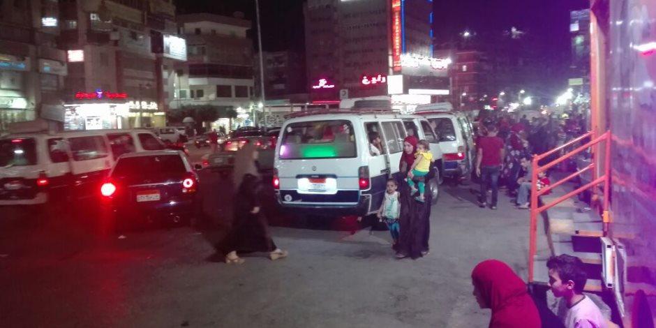 أختفاء شرطة المرور بطنطا في ظروف غامضة (فيديو وصور)