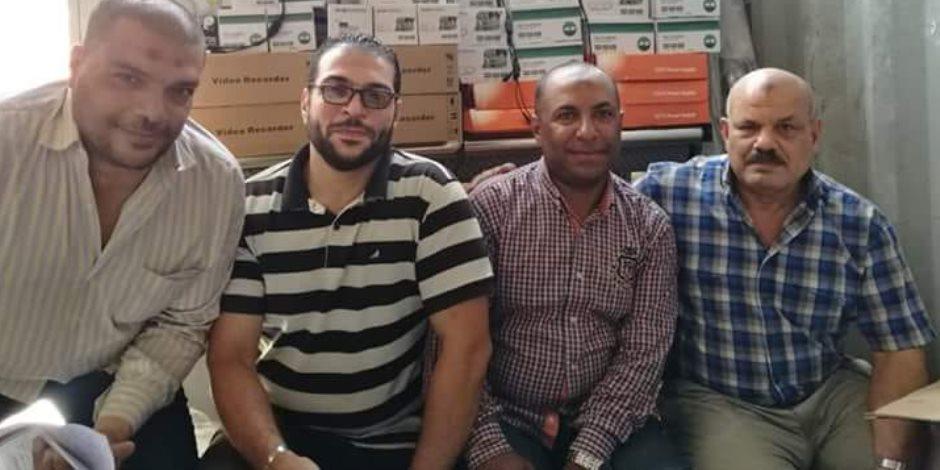 جمارك الدخيلة بالإسكندرية تضبط محاولة تهريب كاميرات ولوازم أنظمة للمراقبة  ( صور )